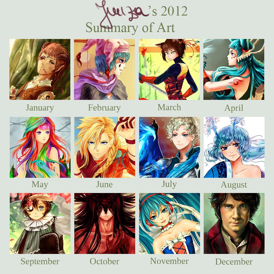 2012 Art Summary by Yuuza