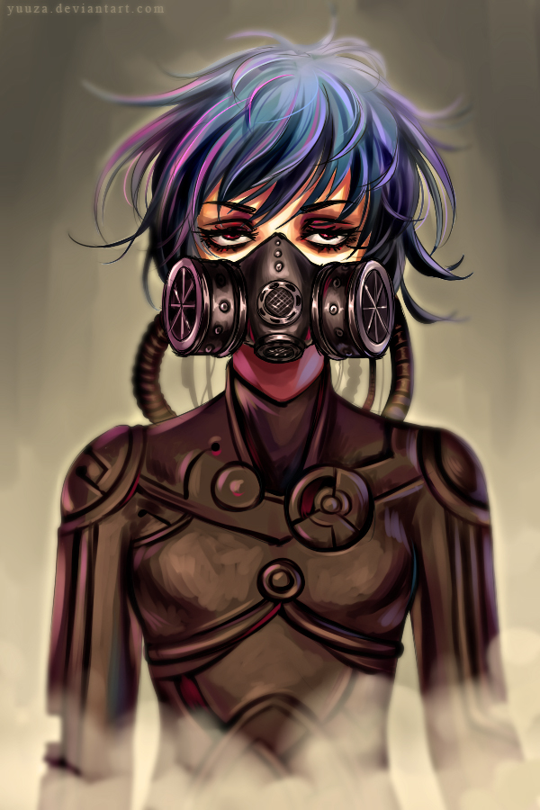 Gas Mask by Yuuza