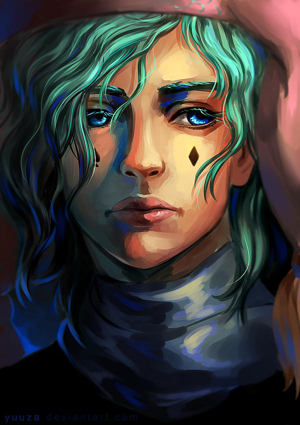 Jester Portrait by Yuuza