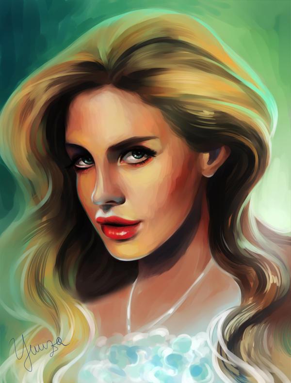 Lana del Rey by Yuuza