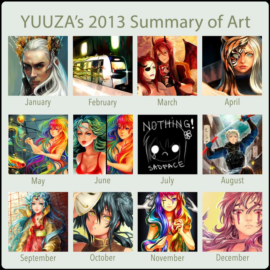 2013 SummaryofArt by Yuuza