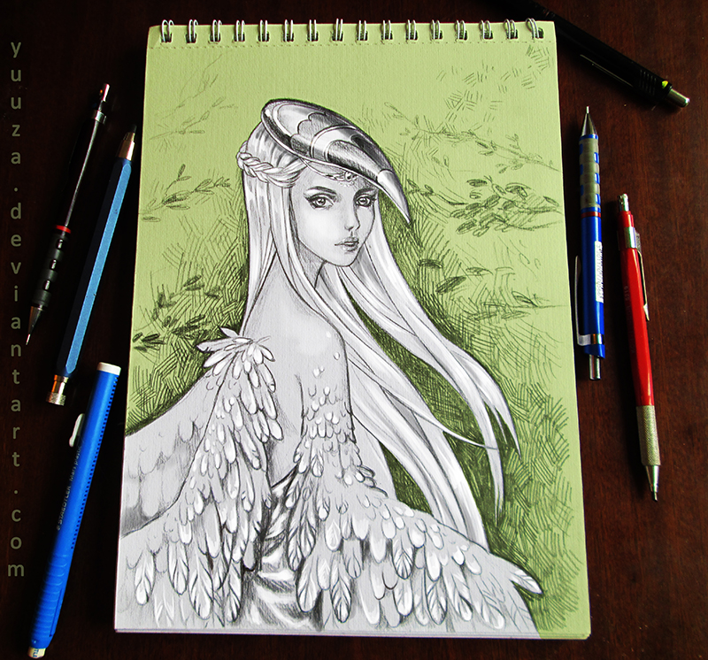 White Harpie by Yuuza