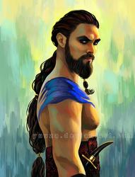 Khal Drogo by Yuuza