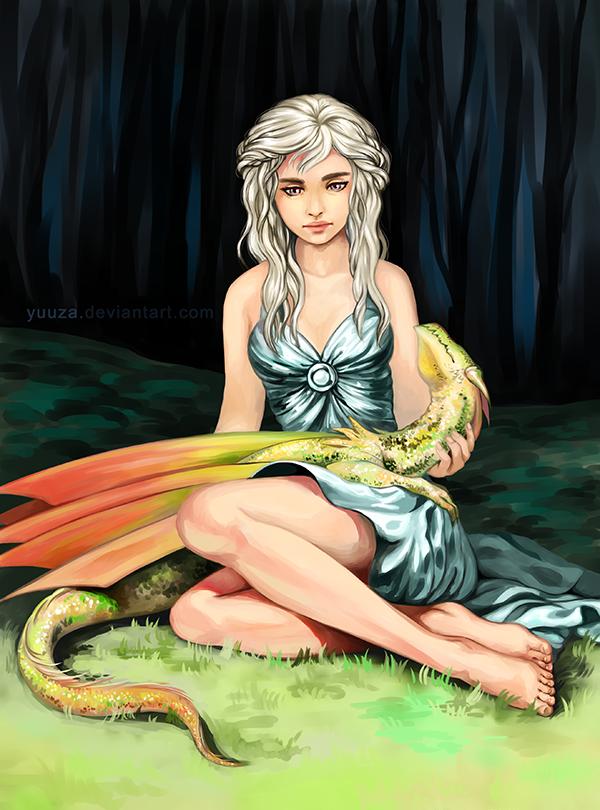 Daenerys Targaryen by Yuuza