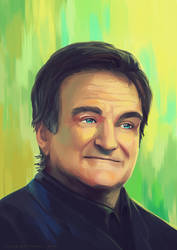 Robin Williams tribute by Yuuza