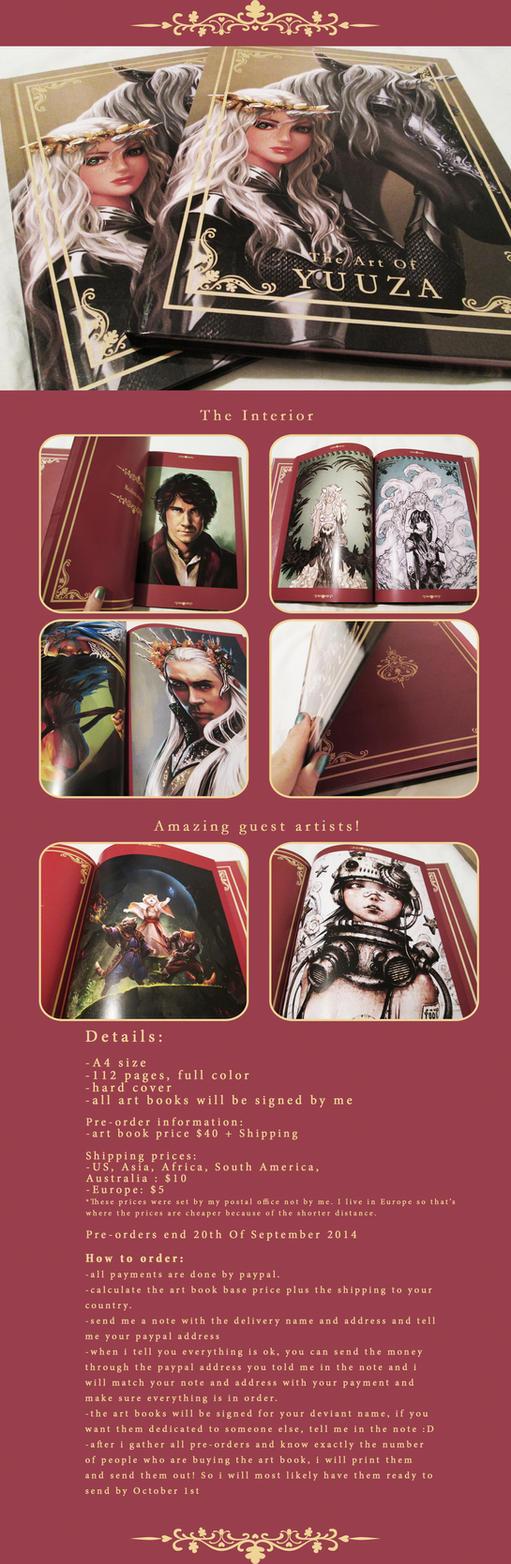 Art Book Pre-orders by Yuuza