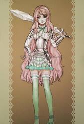 Armoured Lolita Adoptable [CLOSED] by Yuuza