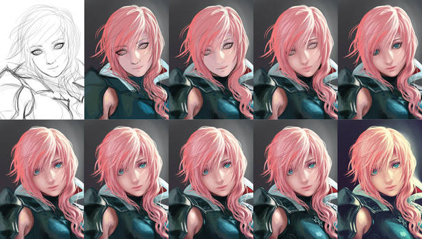 Lightning - Step by Step by Yuuza