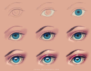 Eye - step by step by Yuuza