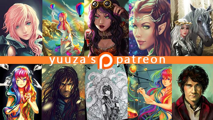 Patreon banner by Yuuza