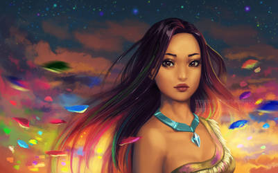 Pocahontas - wallpaper