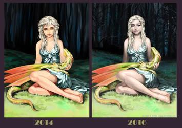 Improvement meme Daenerys