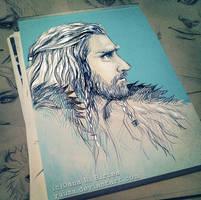 Thorin Oakenshield by Yuuza