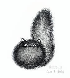 Cat puff by Yuuza