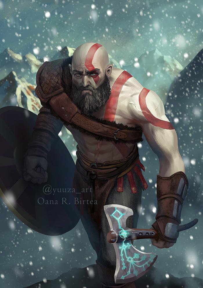 God of War by Yuuza