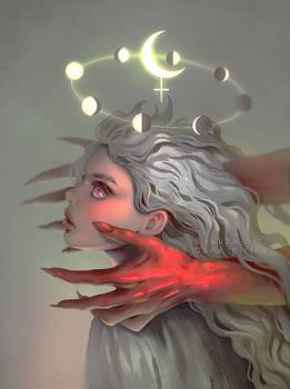 Crimson hands