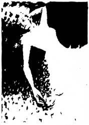 Woman inking