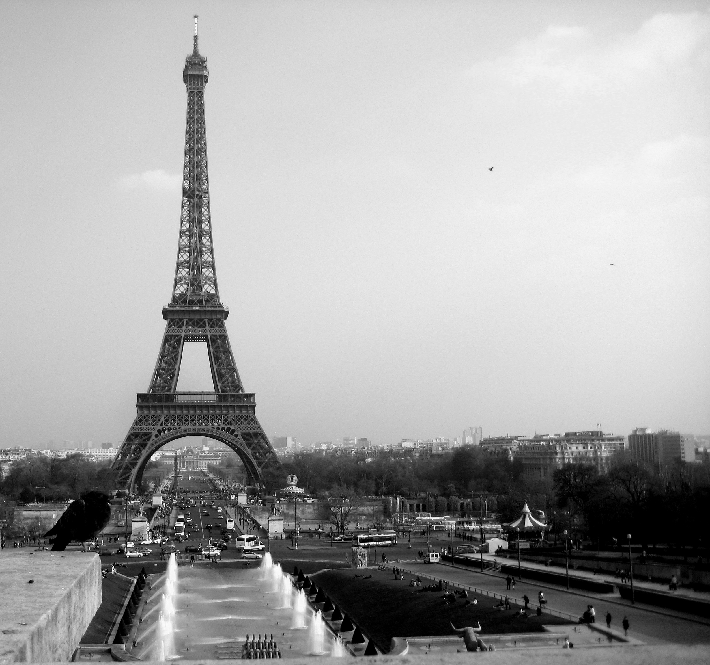 Black And White Paris Wallpapers