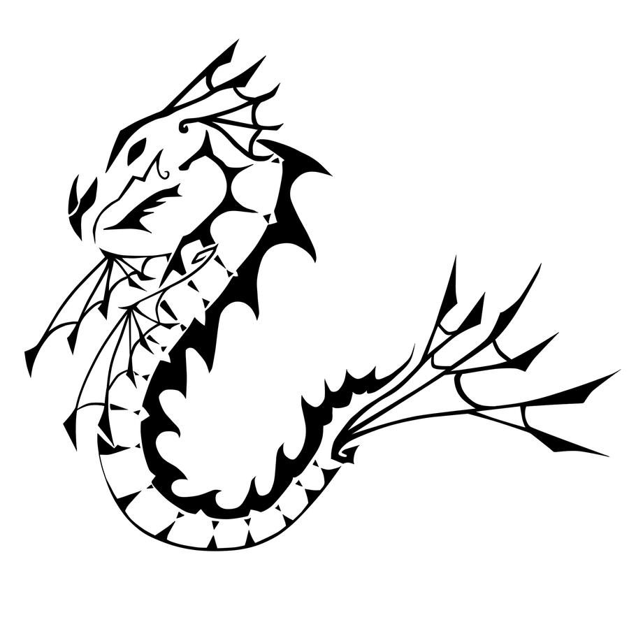 Sea Dragon Tattoo By Catclaw9 On DeviantArt