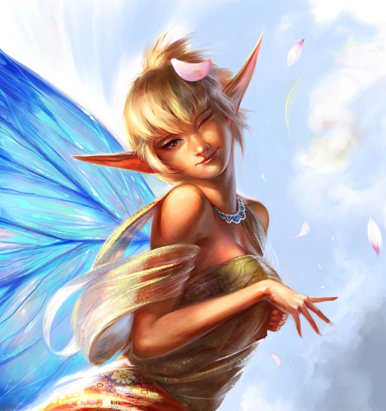 Legend Fairy by agnidevi