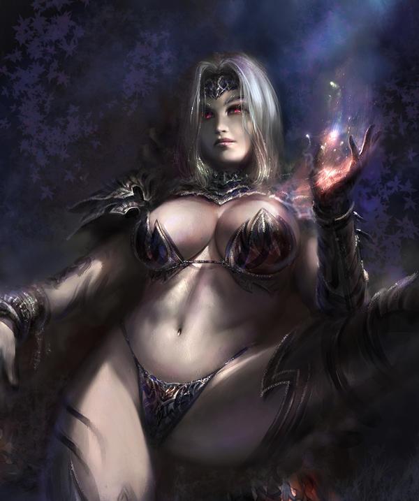 Black magic by agnidevi