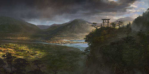Landscape by agnidevi