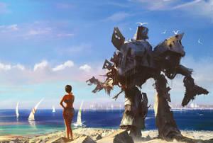 Beach mecha