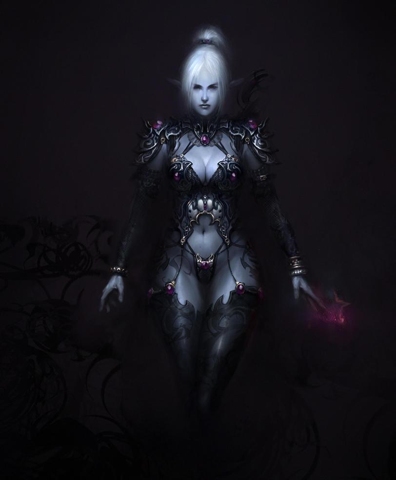 Dark Elf by agnidevi
