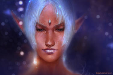 Iris face by agnidevi
