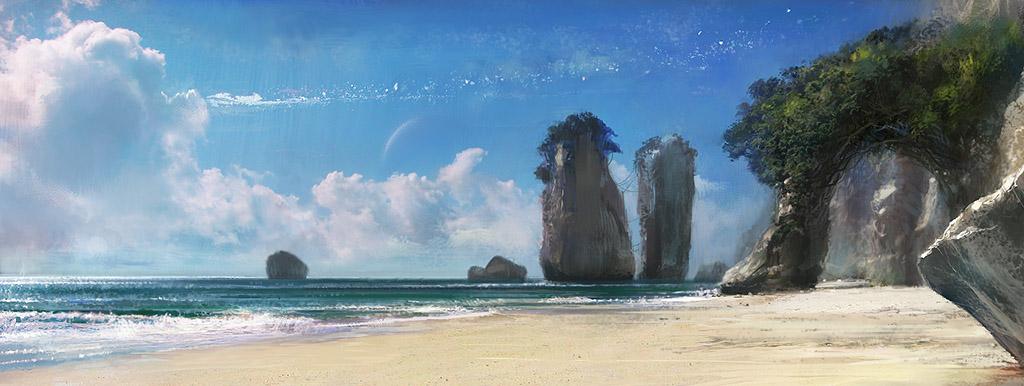 Éden / Paradise  Aquapolis_suburb_beach_concept_by_agnidevi