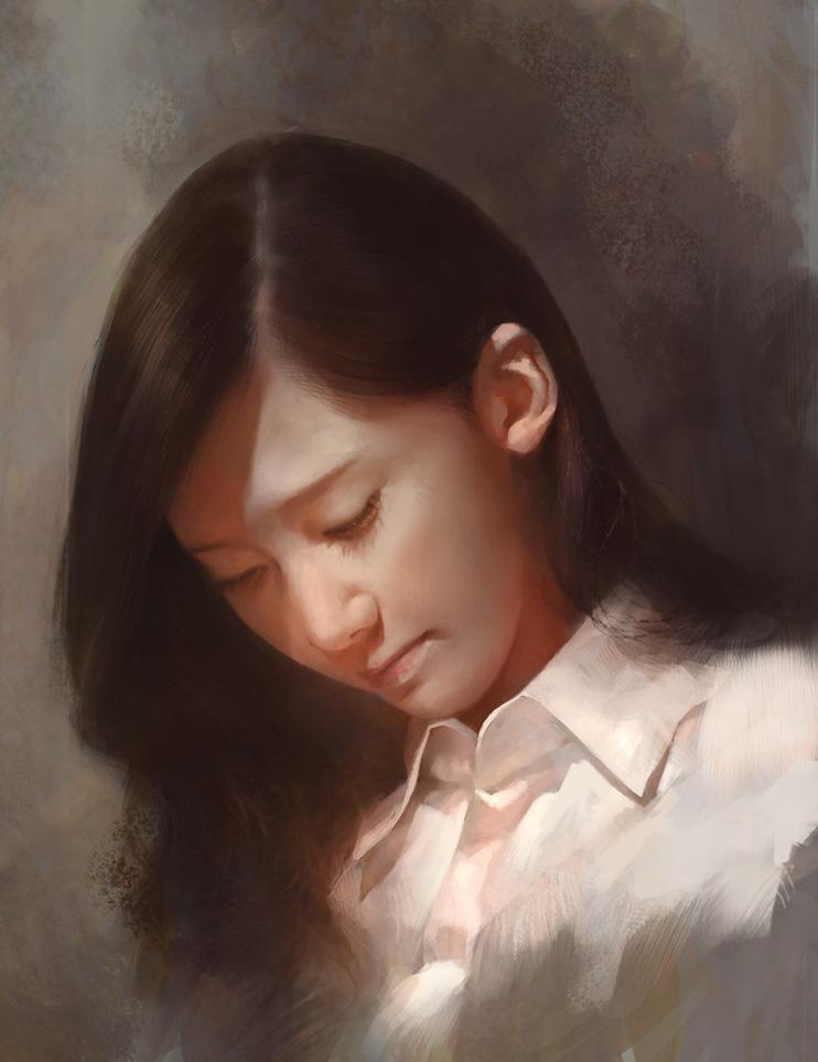Asian girl by agnidevi