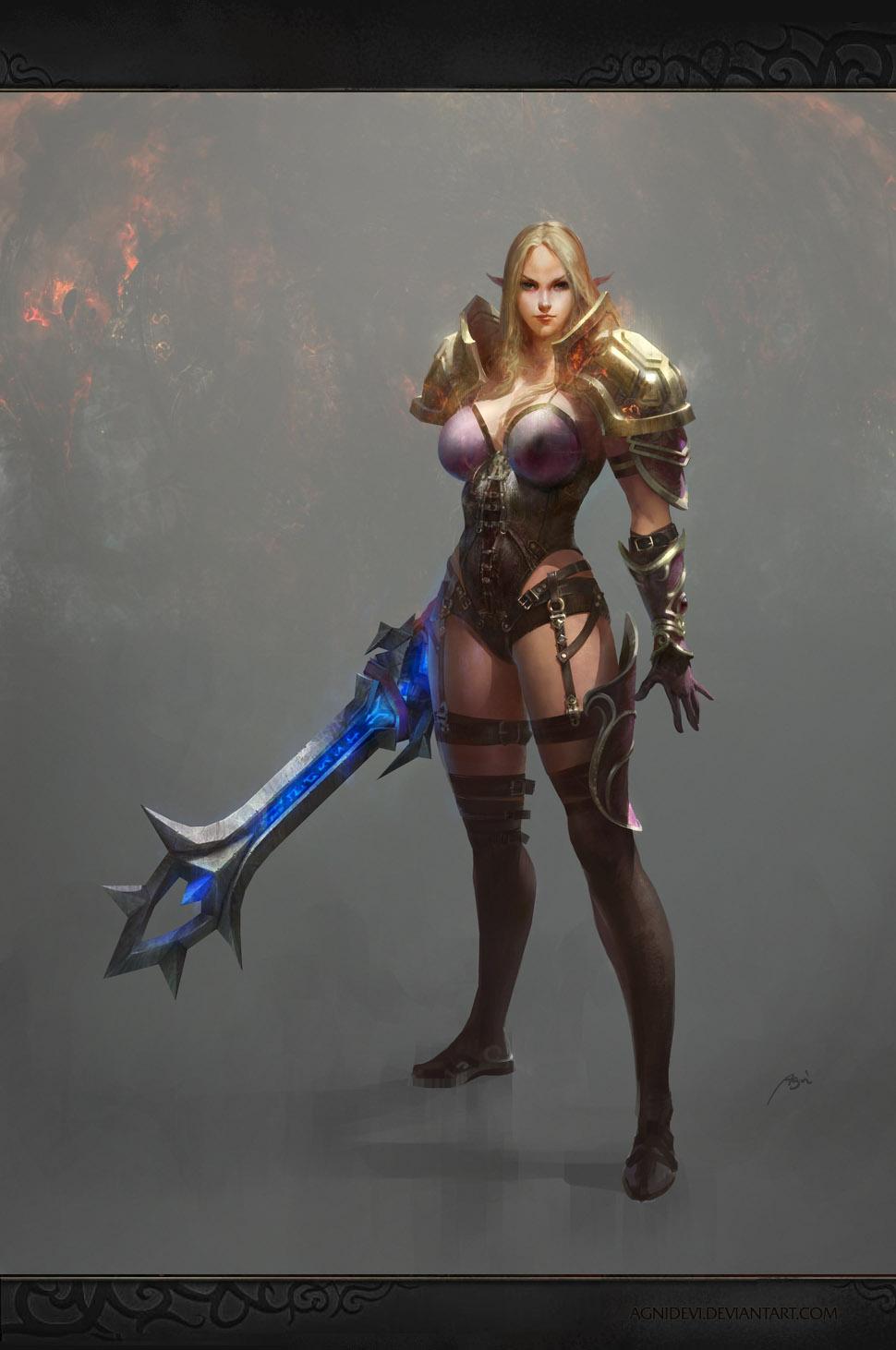 Elfina by agnidevi