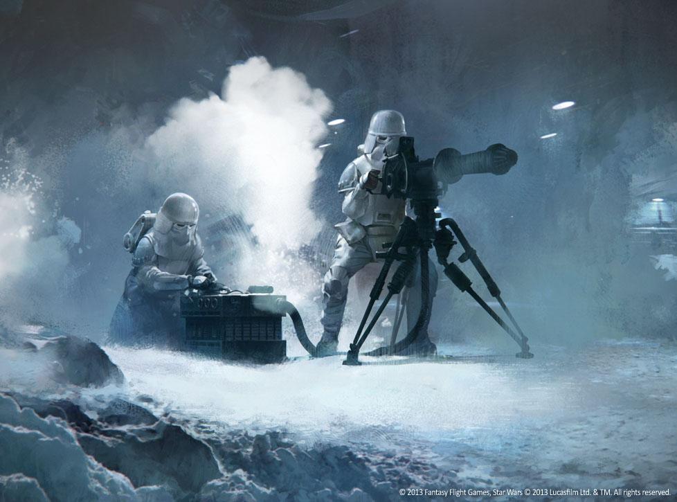 Snowtroopers assault