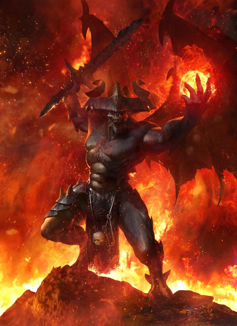 Be'lakor the Dark Master by agnidevi