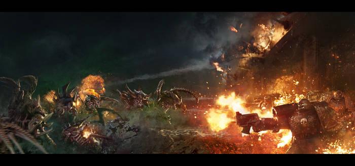 Shield of Baal: Tyranids vs Flesh Tearers