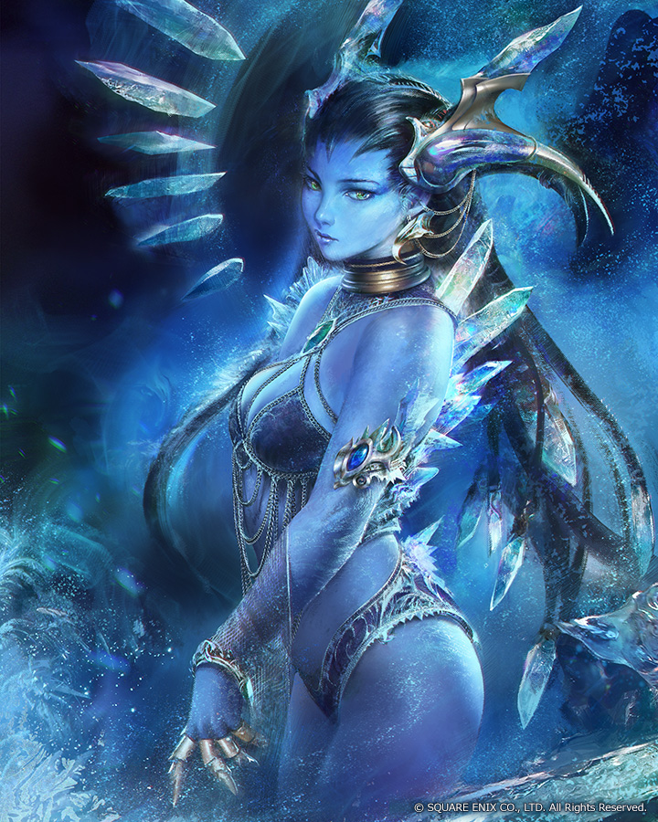 Final Fantasy Shiva by agnidevi