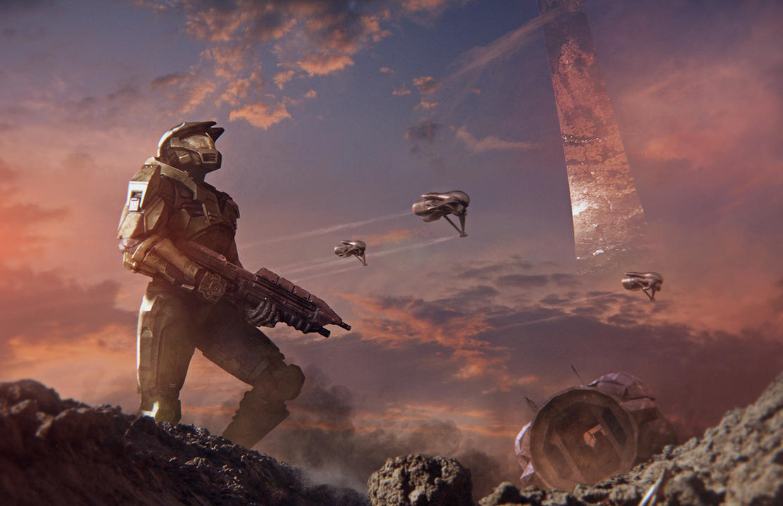 Battle for Alpha Halo by agnidevi