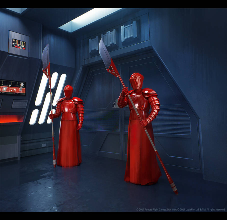 SWD Praetorian Guards by agnidevi
