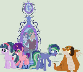 MLP NG Family: EQG Twilight and Timber Spruce