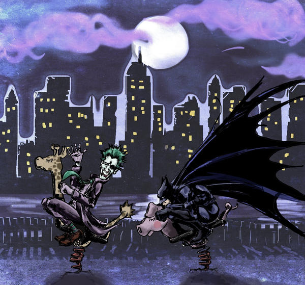 Gotham Playground by Mr-Marzipan