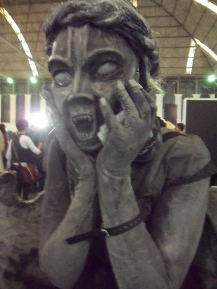 Weeping Macaulay Culkin Angel by FAN-SNE