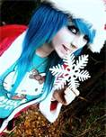 me in my christmas outfit by AmberMcrackin
