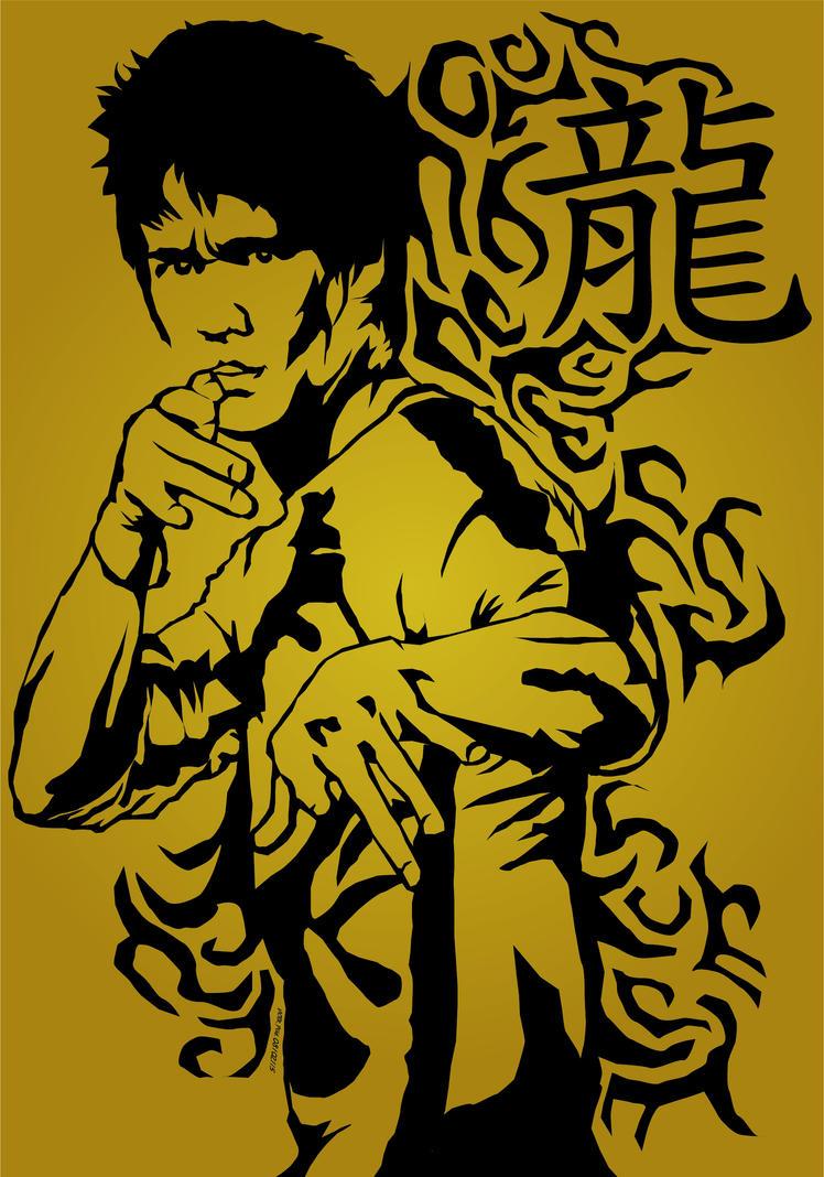 Bruce Lee Dragon Simbo...