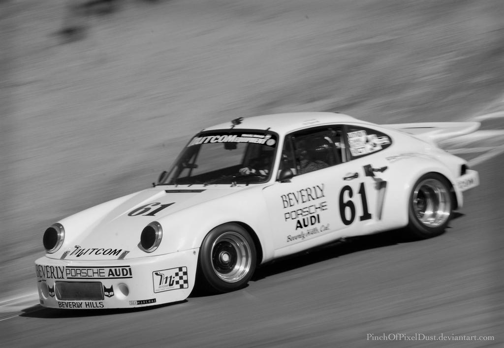 Porsche 911 On The Track by PinchOfPixelDust