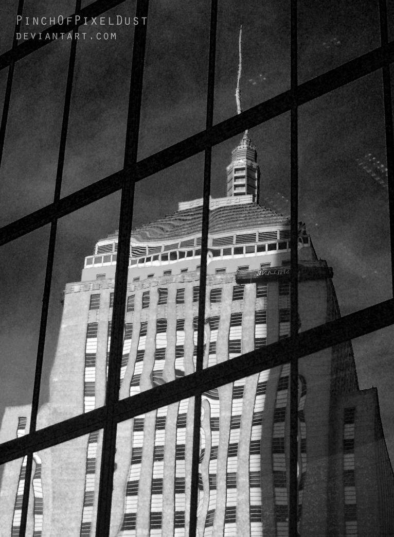 Boston Reflection by PinchOfPixelDust