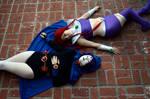 Raven and Starfire by PinchOfPixelDust