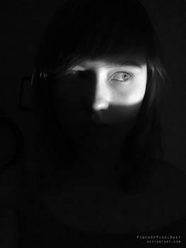 Film Noir Self Portrait