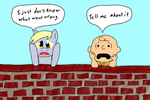 Ponies and Peanuts: Derpy and Charlie Brown
