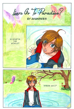 Liars Go To Paradise? Ch.1 - Page 01