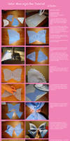 Sailor Moon style bow tutorial